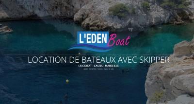 L'Eden Boat, location de bateaux avec skipper à Marseille (13)